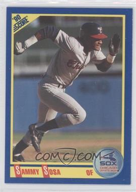 1990 Score #558 - Sammy Sosa