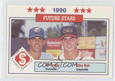 1990 Southern League All-Stars - [Base] #47 - Eddie Zosky, Mike Bell