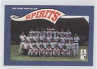 Winston-Salem Spirits Team Photo