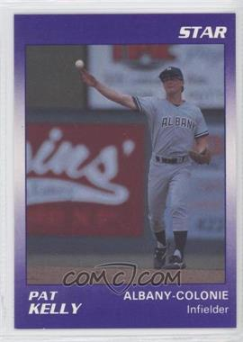 1990 Star Albany Colonie Yankees - [Base] #8 - Pat Kelly