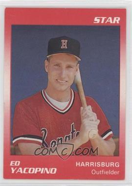 1990 Star Harrisburg Senators #22 - Ed Yacopino