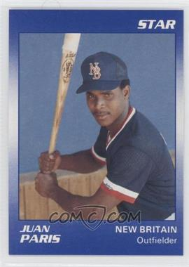 1990 Star New Brittain Red Sox #14 - Juan Paris