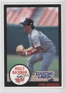 1990 Starting Lineup Cards - [Base] #WABA - Wally Backman