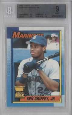1990 Topps Box Set [Base] Collector's Edition (Tiffany) #336 - Ken Griffey Jr. [BGS 9]