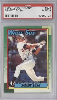 1990 Topps Box Set [Base] Collector's Edition (Tiffany) #692 - Sammy Sosa [PSA9]