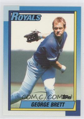 1990 Topps Box Set Collector's Edition (Tiffany) #60 - George Brett