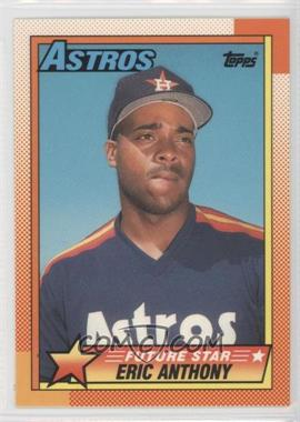 1990 Topps Box Set Collector's Edition (Tiffany) #608 - Eric Anthony