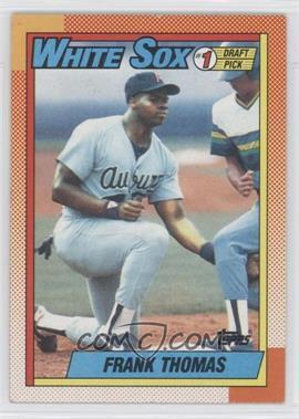1990 Topps #414.1 - Frank Thomas