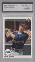 David Justice [ENCASED]