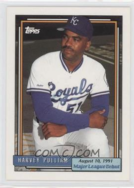 1991-92 Topps Major League Debut 1991 Box Set [Base] #141 - Harvey Pulliam