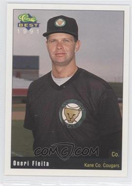 1991 Classic Best Kane County Cougars - [Base] #28 - Oneri Fleita