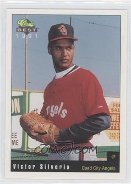 1991 Classic Best Quad City Angels - [Base] #11 - Victor Silverio