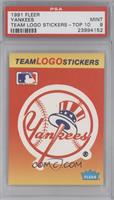 New York Yankees Team [PSA9]