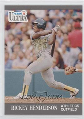 1991 Fleer Ultra #248 - Rickey Henderson