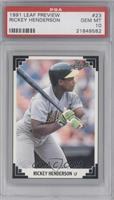 Rickey Henderson [PSA 10]