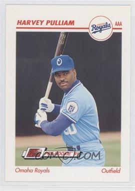 1991 Line Drive Pre-Rookie - AAA #344 - Harvey Pulliam