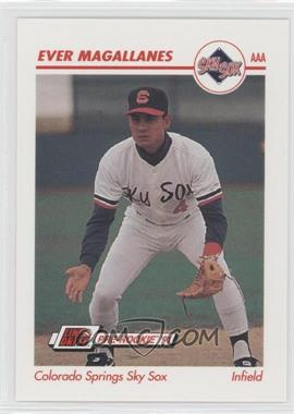 1991 Line Drive Pre-Rookie - AAA #91 - Ever Magallanes
