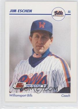 1991 Line Drive Pre-Rookie AA #650 - Jim Eschen