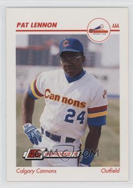 1991 Line Drive Pre-Rookie AAA #63 - Pat Lennon