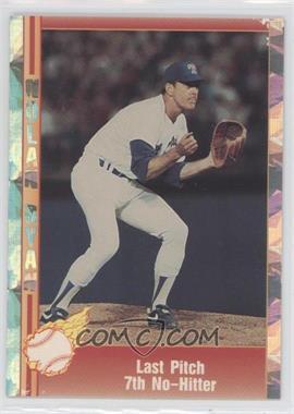 1991 Pacific Nolan Ryan Texas Express - 7th No-Hitter Highlights - Cello Packs Silver Holofoil #1 - Nolan Ryan