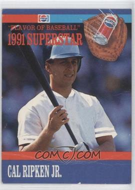 1991 Pepsi Flavor of Baseball Superstars Food Issue [Base] #8 - Cal Ripken