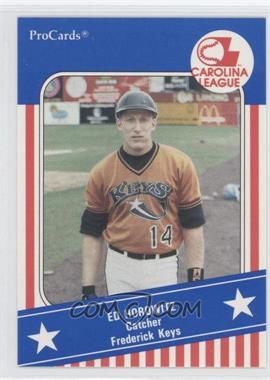 1991 ProCards Carolina League All-Star Game - [Base] #8 - Ed Horowitz