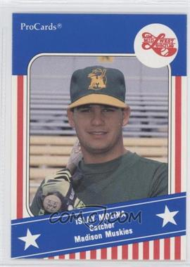 1991 ProCards Midwest League All Star Game #MWL 43 - Isidro Morales