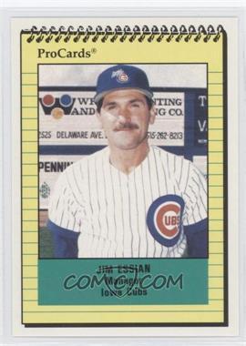 1991 ProCards Minor League #1076 - Jim Essian