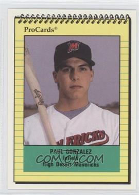 1991 ProCards Minor League #2404 - Pat Gomez
