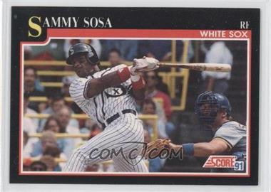 1991 Score #256 - Sammy Sosa