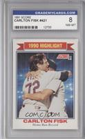 Carlton Fisk [ENCASED]