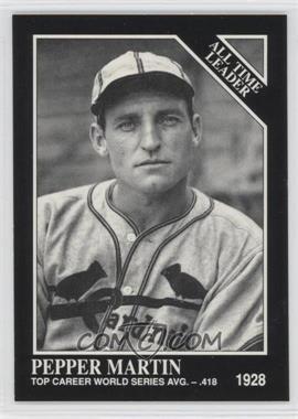 1991 The Sporting News Conlon Collection - [Base] #274 - Pepper Martin