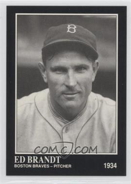 1991 The Sporting News Conlon Collection - [Base] #298 - Ed Brandt