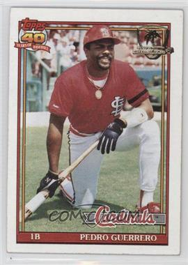 1991 Topps - [Base] - Operation Desert Shield #20 - Pedro Guerrero