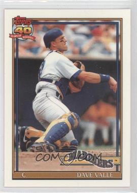1991 Topps - Factory Set [Base] - Collector's Edition (Tiffany) #178 - Dave Valle