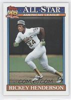 Rickey Henderson, Rodney Holman