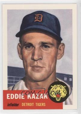 1991 Topps Archives The Ultimate 1953 Set - [Base] #194 - Eddie Kazak