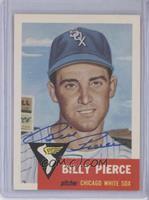 Billy Pierce [JSA Certified Auto]