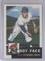 Roy Face [JSA Certified Auto]