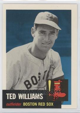 1991 Topps Archives The Ultimate 1953 Set #319 - Ted Williams