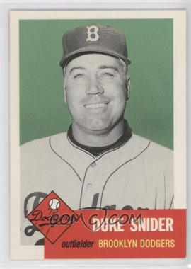 1991 Topps Archives The Ultimate 1953 Set #327 - Duke Snider