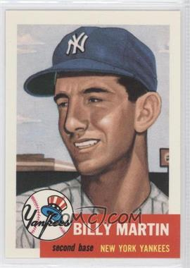 1991 Topps Archives The Ultimate 1953 Set #86 - Billy Martin