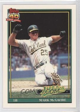 1991 Topps Factory Set [Base] Collector's Edition (Tiffany) #270 - Mark McGwire
