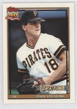1991 Topps Factory Set [Base] Collector's Edition (Tiffany) #425 - Andy Van Slyke