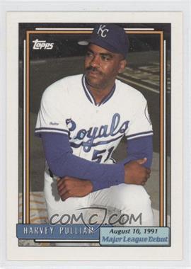 1991 Topps Major League Debut Box Set [Base] #141 - Harvey Pulliam