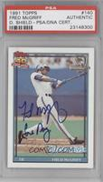 Fred McGriff [PSA/DNA Certified Auto]