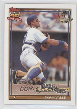 1991 Topps Operation Desert Shield #178 - Dave Valle
