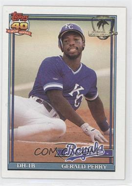 1991 Topps Operation Desert Shield #384 - Gerald Perry