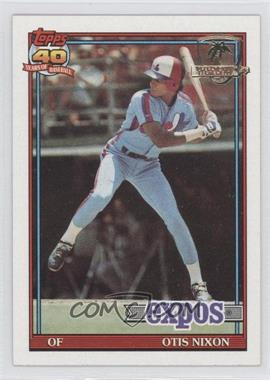 1991 Topps Operation Desert Shield #558 - Otis Nixon