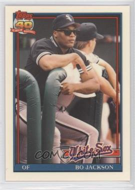 1991 Topps Traded Box Set [Base] Collector's Edition (Tiffany) #58T - Bo Jackson